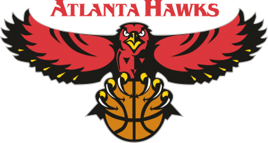 Принт Футболка Поло Atlanta Hawks - FatLine