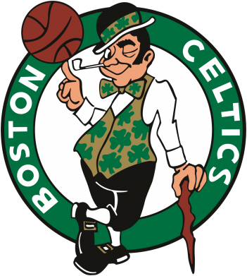 Принт Футболка Поло Boston Celtics - FatLine