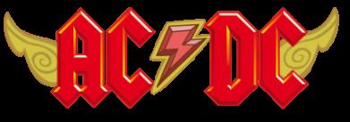 Принт Подушка AC/DC с крыльями - FatLine
