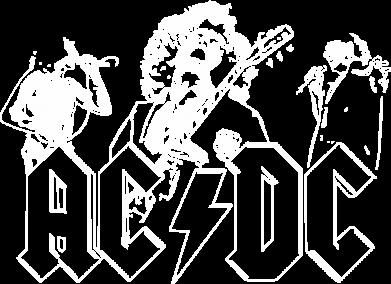 Принт Жіноча футболка AC/DC print, Фото № 1 - FatLine