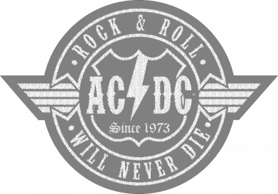 Принт Кепка AC/DC gray, Фото № 1 - FatLine