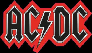 Принт Камуфляжная футболка AC/DC Vintage - FatLine