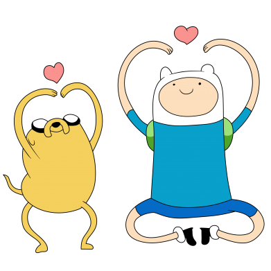 Принт Жіноча футболка Adventure time, Фото № 1 - FatLine