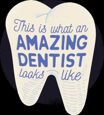 Принт Жіноча футболка Amazing Dentist, Фото № 1 - FatLine