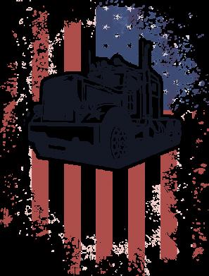 Принт Кружка 320ml American Truck, Фото № 1 - FatLine