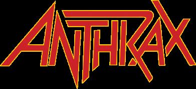 Принт Жіноча футболка Anthrax red logo, Фото № 1 - FatLine