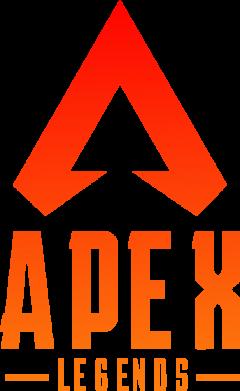 Принт Жіноча футболка Apex legends gradient logo, Фото № 1 - FatLine