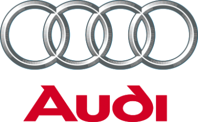 Принт Женская майка Audi 3D Logo - FatLine