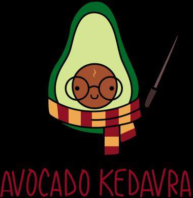 Принт Жіноча футболка Avocado kedavra, Фото № 1 - FatLine