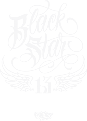 Принт Футболка Black Star Original - FatLine