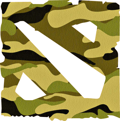 Принт Камуфляжная футболка Dota камуфляж - FatLine