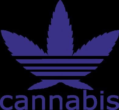 Принт Коврик для мыши Cannabis - FatLine