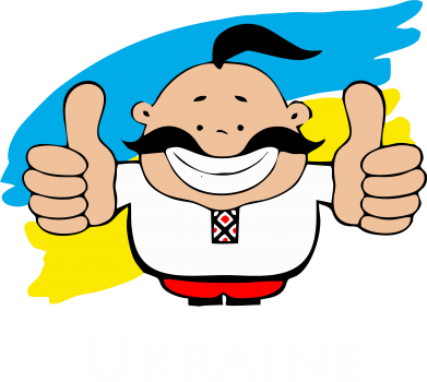 Принт Тельняшка с длинным рукавом Ukraine kozak - FatLine