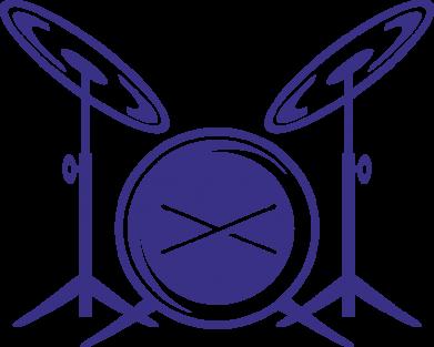 Принт Сумка Барабанная установка - FatLine