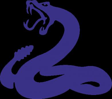 Принт Коврик для мыши Змея - FatLine