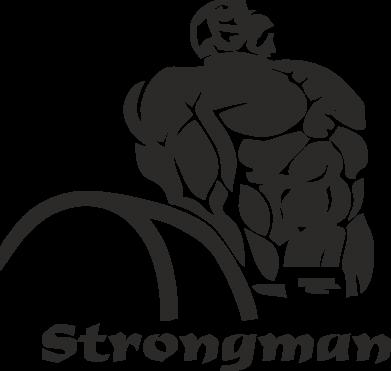 Принт Подушка Strongman - FatLine