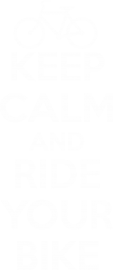 Принт Мужская майка KEEP CALM AND RIDE YOUR BIKE - FatLine