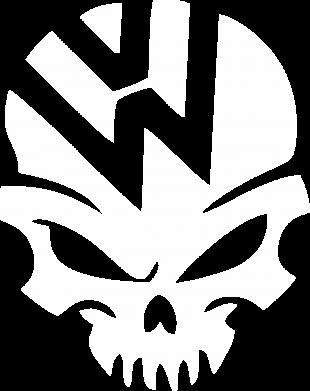 Принт Женская футболка Volkswagen Skull - FatLine