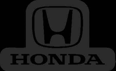 Принт Наклейка Honda Stik - FatLine