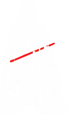 Принт Майка-тельняшка You don't know the power of the dark side - FatLine