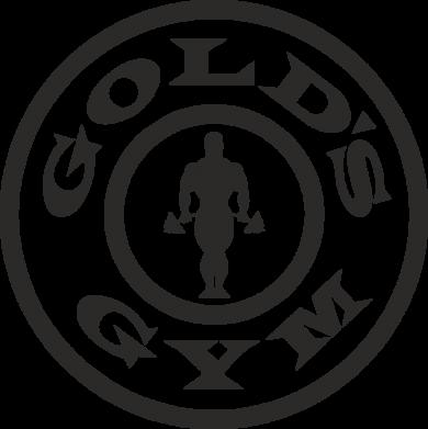 Принт Тельняшка с длинным рукавом Gold's Gym - FatLine