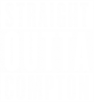 Принт Футболка Поло Straight outta compton - FatLine
