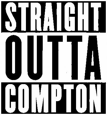 Принт Футболка Straight outta compton - FatLine