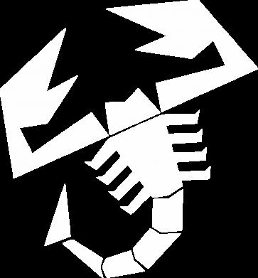 Принт Женская футболка с V-образным вырезом Abarth - FatLine