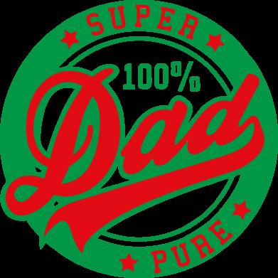 Принт Сумка Super Dad Pure 100% - FatLine