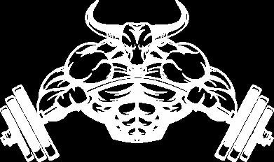 Принт Мужская толстовка на молнии Big Bull - FatLine