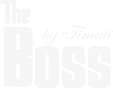 Принт Майка-тельняшка The Boss by Timati - FatLine