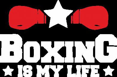 Принт Кепка Boxing is my life, Фото № 1 - FatLine