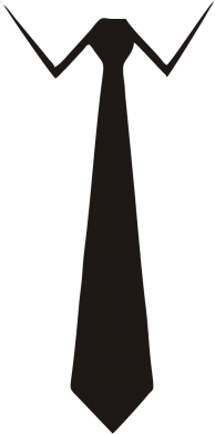 Принт Мужская футболка  с V-образным вырезом Галстук - FatLine