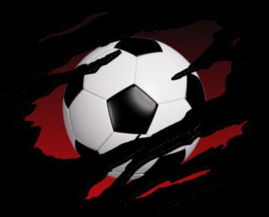 Принт Жіноча футболка Football ball  through the T-Shirt, Фото № 1 - FatLine