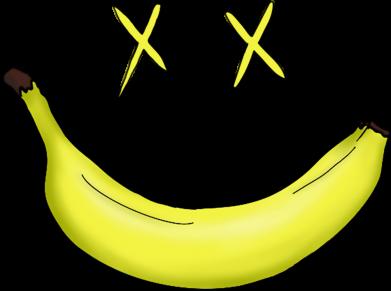 Принт Мужская толстовка Banana smile, Фото № 1 - FatLine