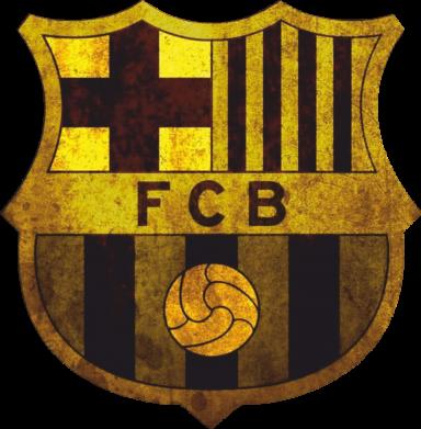 Принт Майка-тельняшка Логотип Барселоны - FatLine