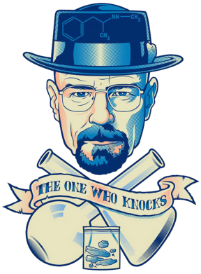 Принт Подушка The one who knocks - FatLine