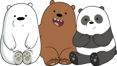 Принт Женская футболка We are ordinary bears, Фото № 1 - FatLine