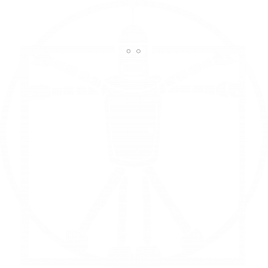 Принт Мужская футболка  с V-образным вырезом Bender Da Vinchi - FatLine