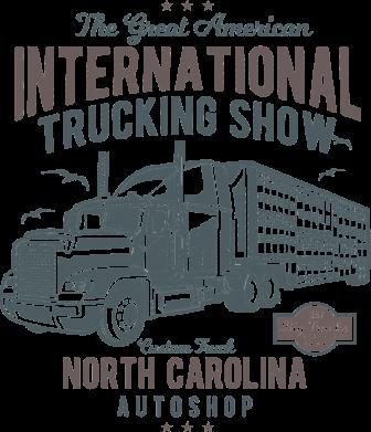 Принт Жіноча футболка Big Truck 1, Фото № 1 - FatLine