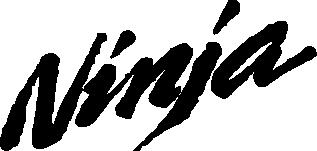 Принт Фартук Ninja - FatLine