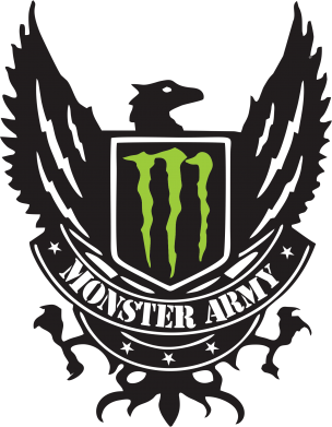 Принт Реглан Monster Army - FatLine