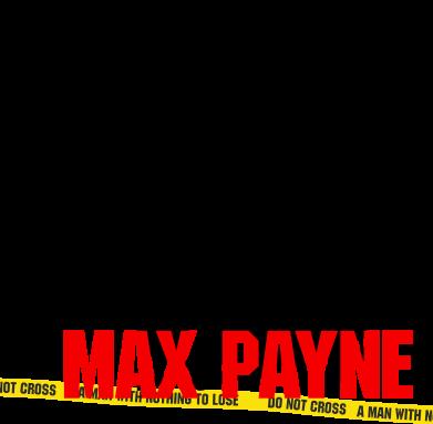 Принт Мужская футболка  с V-образным вырезом Max Payne - FatLine