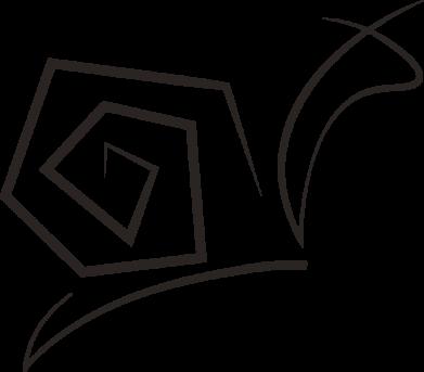 Принт Женская футболка Snail minimalism, Фото № 1 - FatLine