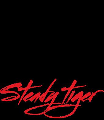 Принт Жіноча футболка Steady tiger, Фото № 1 - FatLine