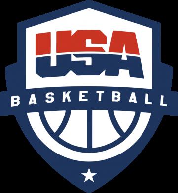 Принт Женская футболка USA basketball, Фото № 1 - FatLine