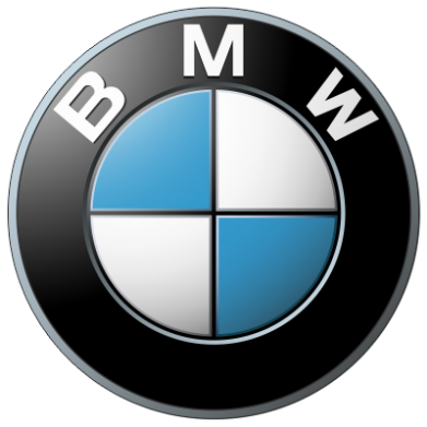 Принт Майка-тельняшка BMW Small Logo - FatLine