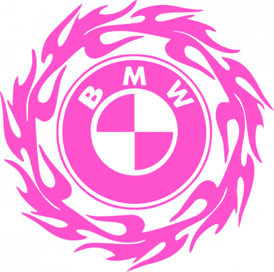 Принт Жіноча футболка BMW in the circle of fire, Фото № 1 - FatLine