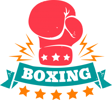 Принт Реглан Boxing Logo - FatLine