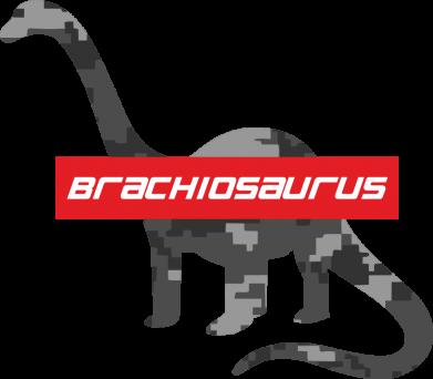 Принт Женская футболка Brachiosaurus, Фото № 1 - FatLine